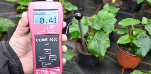 Измерение активности солей AM 5000