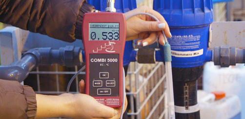 Измерение электропроводностиEC 5000