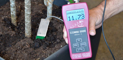 Измерение влажности MST 5000