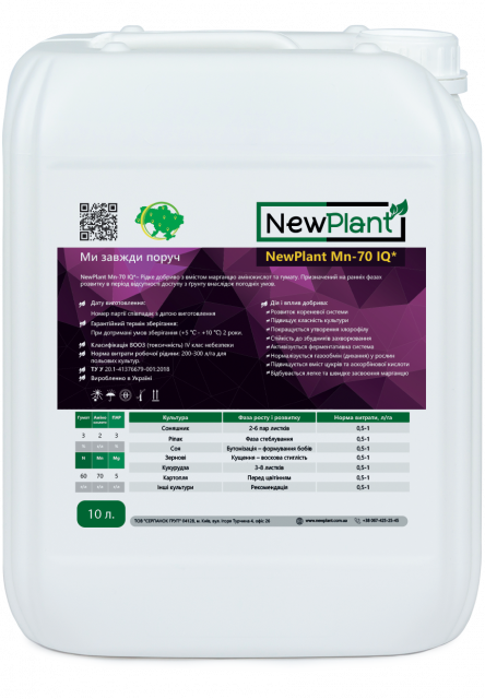 NewPlant Mn-70 IQ