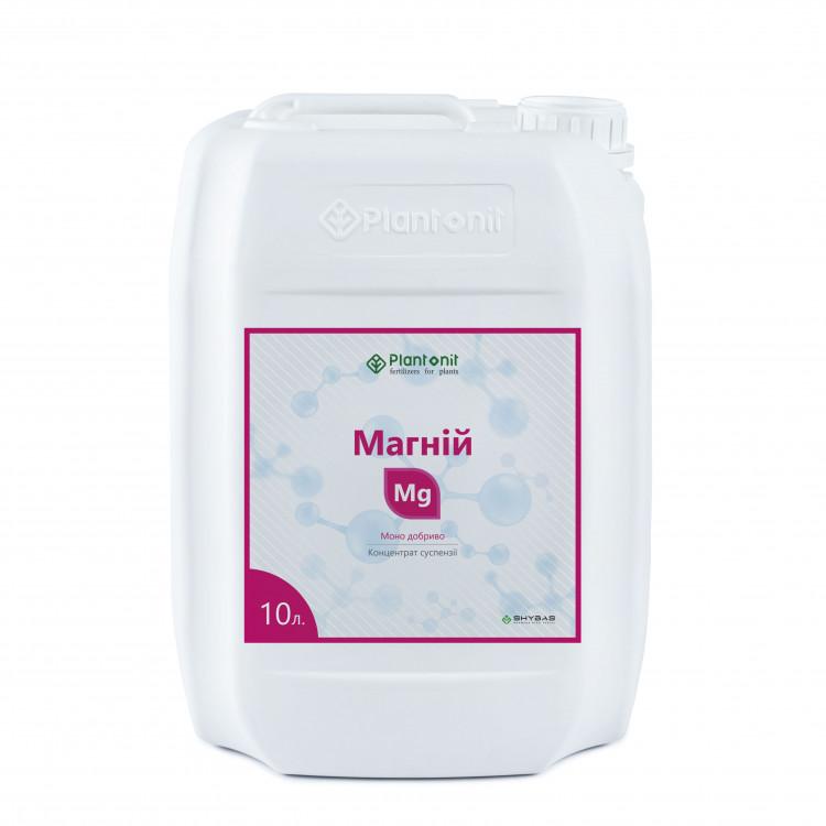 Плантонит Магний - жидкое удобрение для профилактики и дефицита недостатка магния в растениях.