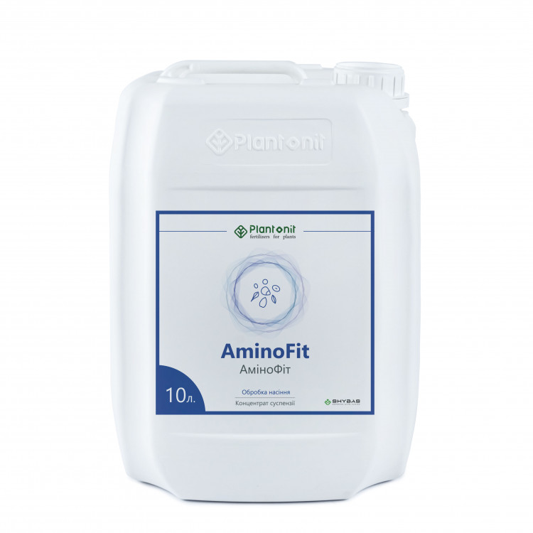 Плантонит АминоФит - это уникальное комплексное жидкое удобрение для обработки семян полевых.