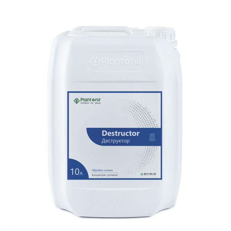 Плантонит Деструктор - комплексный (почвенно - удобрительный) препарат, активатор процесса деструкции, гумификации и минерализации растительных остатков всех культур.