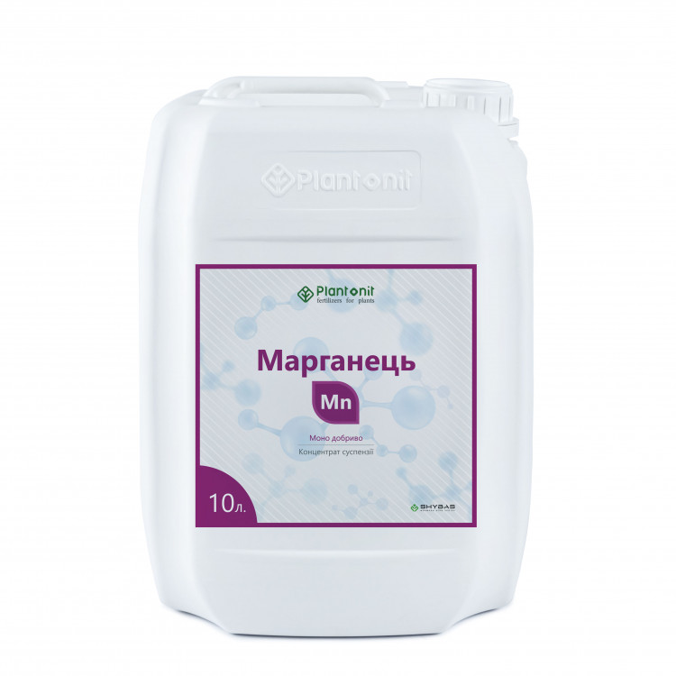 Плантонит Марганец - жидкое удобрение для профилактики и дефицита недостатка марганца в растениях.