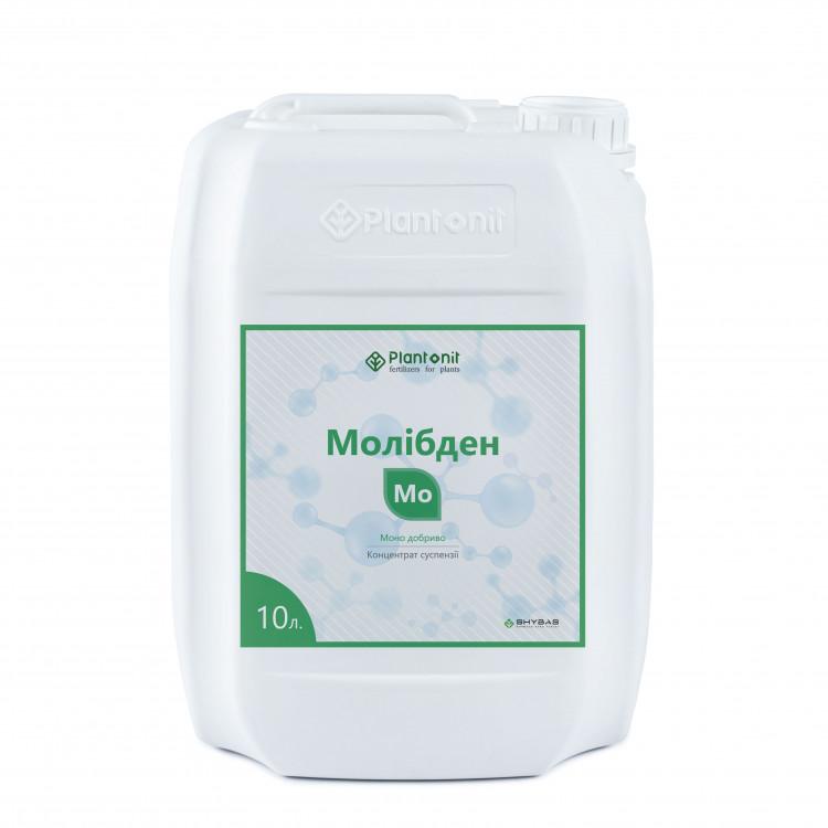 Плантонит Молибден - жидкое удобрение для профилактики и дефицита недостатка молибдена в растениях.