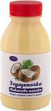 Продукт сгущенный с маслом и сахаром со вкусом КОКОСА пэт / бутылка 370 гр., экспорт Днепр