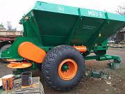 Разбрасыватель минеральных удобрений МВУ-6. Запчасти. Орехов