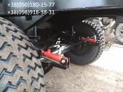 Прицеп тракторный НТС -12 с гидравлическим стояночным тормозом. Орехов