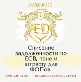 Бухгалтерские услуги для ФОП, списание ЕСВ, пени и штрафов Харьков