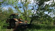 Корчевание мульчером Запорожье. Услуги и продажа лесных мульчеров для раскорчевки. Запорожье