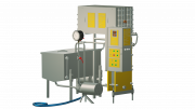 Пастеризатор молока 2 т/г для виробництва сиру та вершків УЗМ-2, 0П Харьков