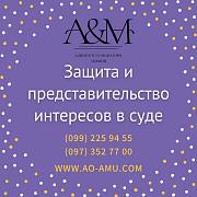 Защита и представительство интересов в суде Харьков
