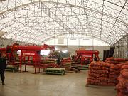 Ангары для хранения картофеля под ключ в Украине, строительство овощехранилищ. Киев
