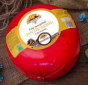 Российский с паприкой, твёрдый сыр, 50% жирности Днепр